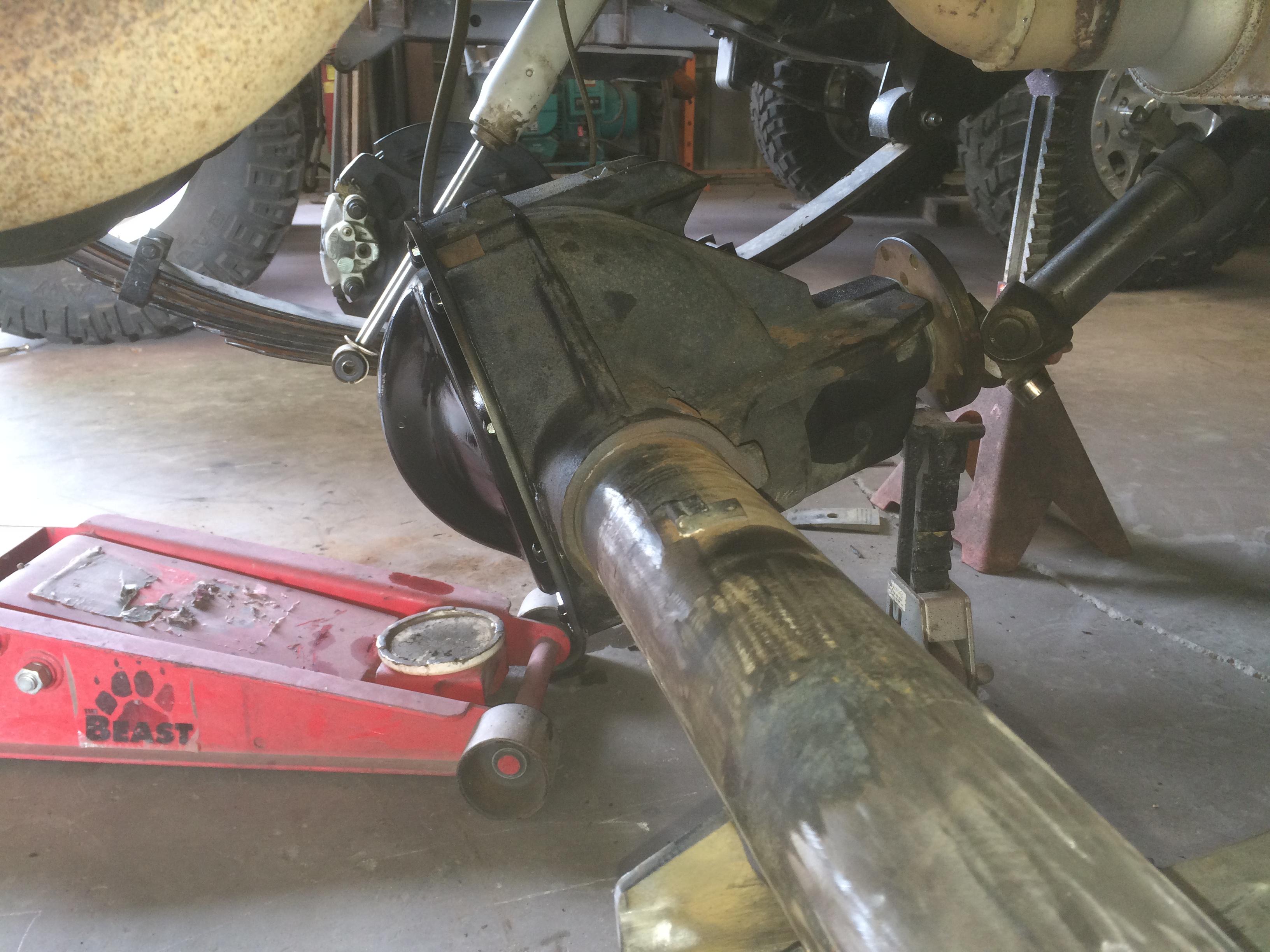 RSO Performance   Budget YJ: Part 1 – Ford 8 8 Swap