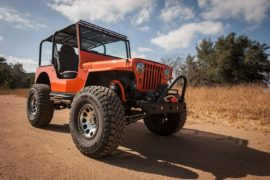 FOR SALE: Little Orange Willys