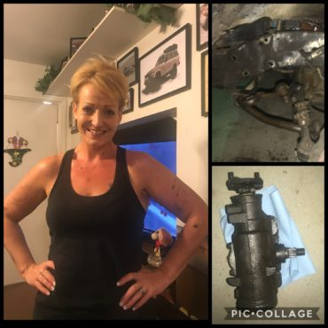 Tired & Dirty Garage Girl, But Installed