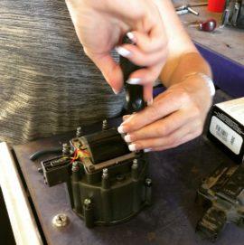 Replacing the Distributor Rotor
