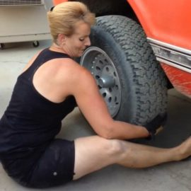Removing My First Tire